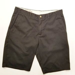 Volcom Black Shorts Mens Sz 34